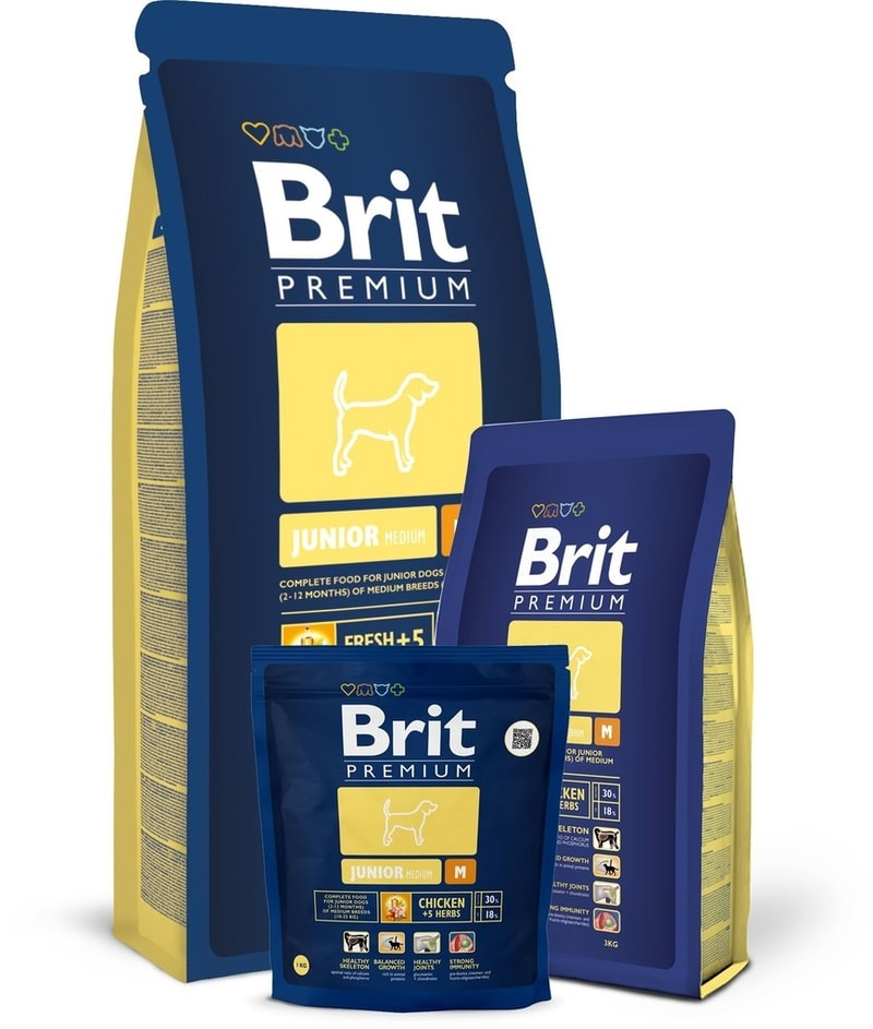 Brit Premium Dog Junior M 15 kg