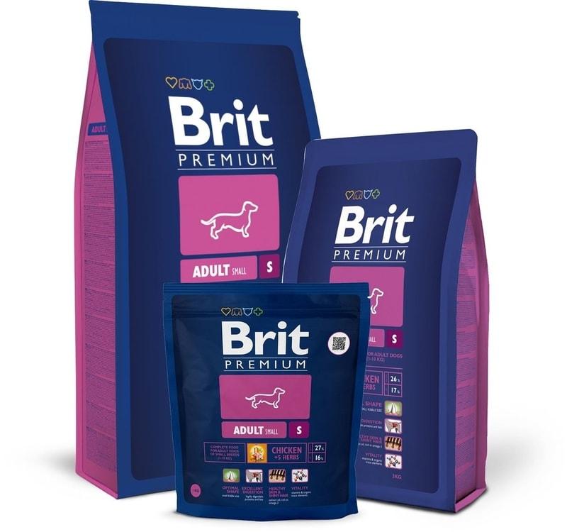Brit Premium Dog Adult S 3kg - 30 dní na vyskúšanie