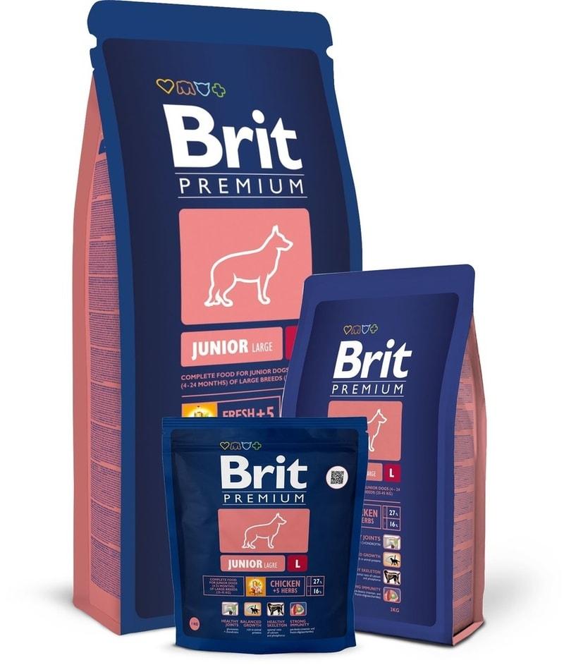 Brit Premium Dog Junior L 3kg