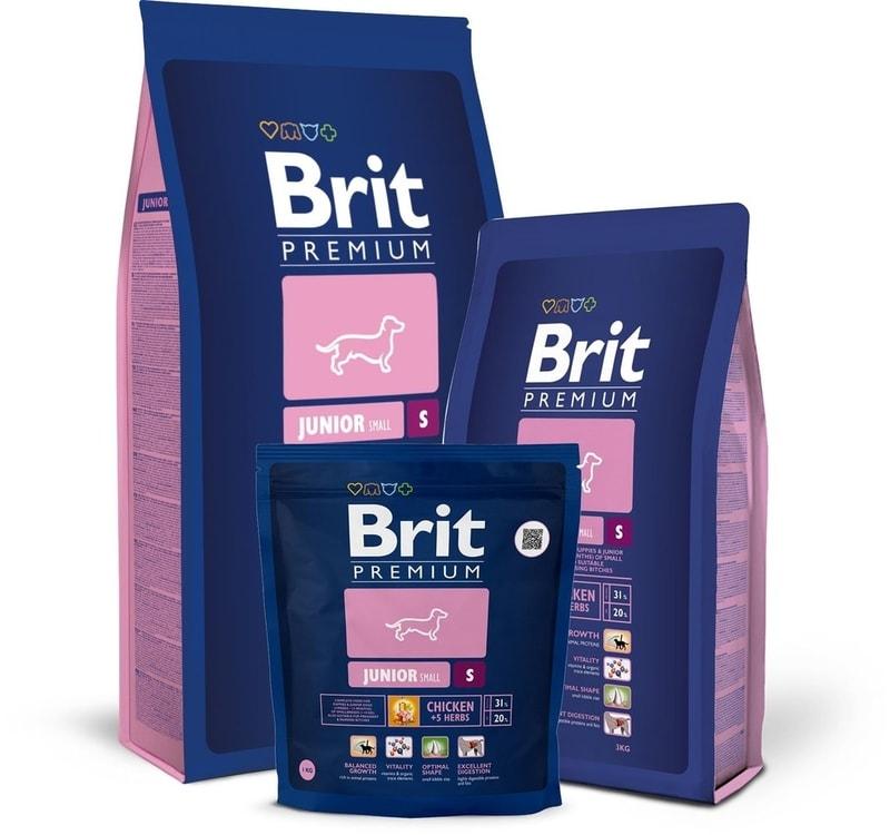 Brit Premium Dog Junior S 3kg