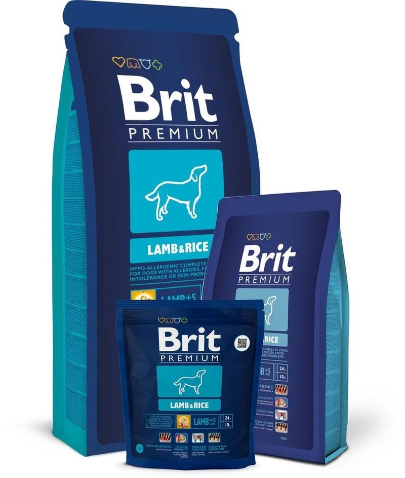 Brit Premium Dog Lamb&Rice 15kg