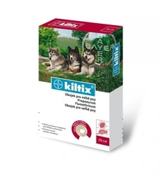 Antiparazitní obojek pro psy Kiltix 70