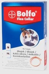 Bolfo antiparazitní obojek pro kočky a malé psy 38