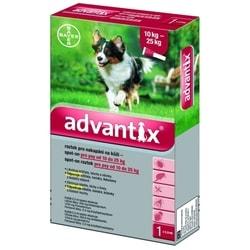 Advantix antiparazitní pipeta pro psy 10 - 25 kg, 1 x 2,5 ml