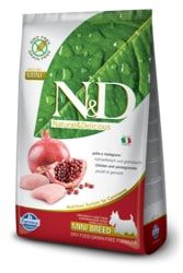 N&D GF DOG Adult Mini Chicken & Pomegranate 800g