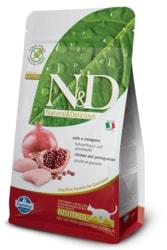 N&D GF CAT Neutered Chicken&Pomegranate 1,5kg
