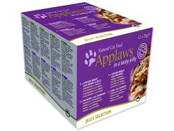 Konzervy APPLAWS Cat Jelly Selection multipack 840g