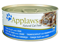 Konzerva APPLAWS Cat Tuna & Crab 70g
