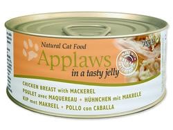 Konzerva APPLAWS Cat Jelly Chicken & Mackerel 70g