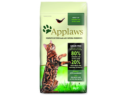 APPLAWS Dry Cat Chicken with Lamb 2kg