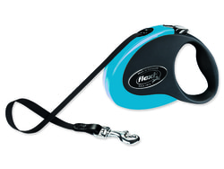 Vodítko FLEXI Collection páska černo-modré S 3m/12 kg