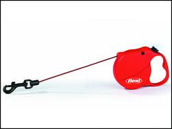 Vodítko FLEXI Mini 3 červené 3 m/8 kg