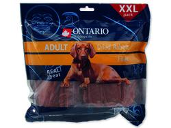 Snack ONTARIO Dog Dry Rabbit Fillet 500g