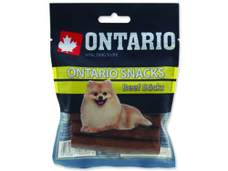 Snack ONTARIO Dog Rawhide Stick 7,5 cm 5ks
