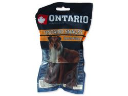 Snack ONTARIO Dog Rawhide Beef Fillets 12,5 cm 10ks