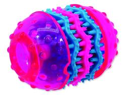 Hračka DOG FANTASY TPR Dental růžová 10,8 cm
