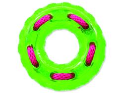 Hračka DOG FANTASY kruh gumový zelený 12 cm