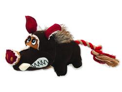 Hračka DOG FANTASY textilní divočák 35 cm