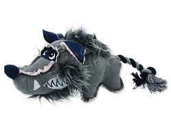 Hračka DOG FANTASY textilní vlk 40 cm