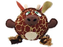 Hračka DOG FANTASY textilní žirafa 24 cm