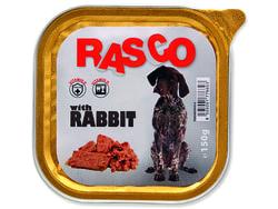Paštika RASCO Dog s králičím masem 150g