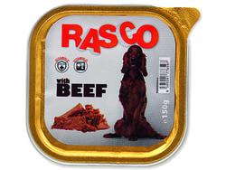 Paštika RASCO Dog s hovězím masem 150g
