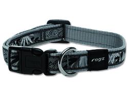 Obojek ROGZ Fancy Dress Silver Gecko M