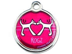 Známka ROGZ Red Heart kovová S