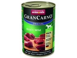 Konzerva ANIMONDA Gran Carno hovězí + zvěřina 400g