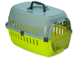 Kiste DOG FANTASY Carrier Gelb 48,5 cm