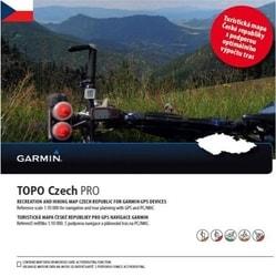 Garmin Topo Czech PRO 2017, microSD/SD karta Garmin Topo Czech PRO 2017, microSD/SD karta
