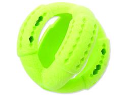 Hračka DOG FANTASY FTPR míč na pamlsky zelený 11 cm