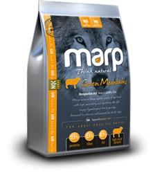 Marp Natural Green Mountains/ Hypoalergenní krmivo s jehněčím pro kompletní výživu všech psů 12 Kg