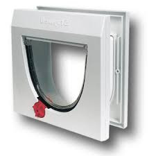 Pet door Staywell 917 white with tunnel