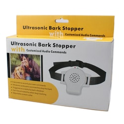 Ultrasound collar with voice recorder Petrainer