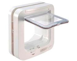 Cat door with microchip SureFlap