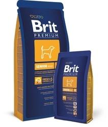 Brit dog Premium Senior M 15kg