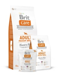 Brit Care Dog Adult Medium Breed Lamb & Rice 12kg