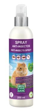 Antiparazitný sprej proti blechám a klíšťatům pro kočky s margózy Menforsan