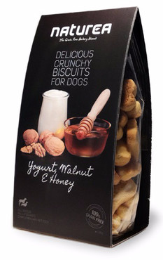 Naturea keksíky - Jogurt, vlašské ořechy a med