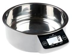 Miska pro psy s váhou EYENIMAL 1 litr - bílá