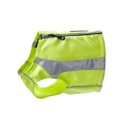Polární reflexní vesta Hurtta - žlutá XS