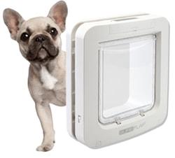 Dvířka pro psy s mikročipem SureFlap