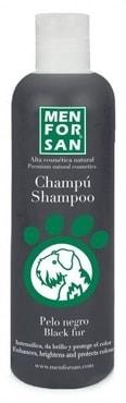 Přírodní šampon Menforsan zvýrazňující černou barvu