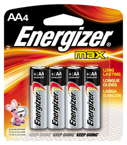 Baterie Energizer AA 4ks