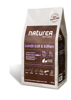Naturea Lands Cat & Kitten 2 kg