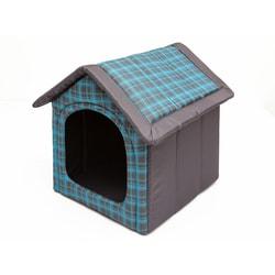 Domeček pro psa Reedog Grey Strips - S