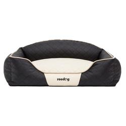Pelíšek pro psa Reedog Black & Beige Sofa