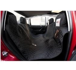 Reedog ochranný potah do auta pro psa na zip + boky - černý - XL