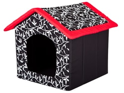 Domeček pro psa Reedog Red Flower - M